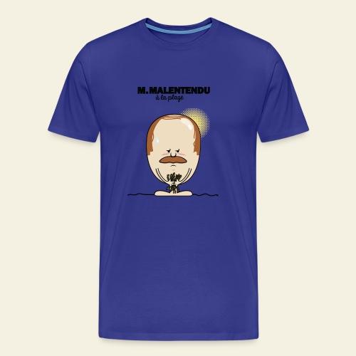 M. Malentendu à la plage - T-shirt Premium Homme