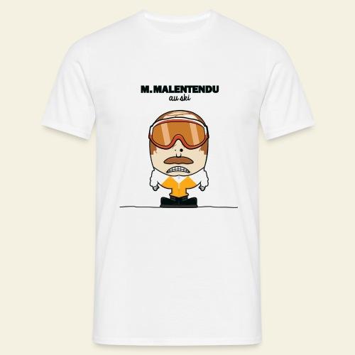 M. Malentendu à la plage - T-shirt Homme