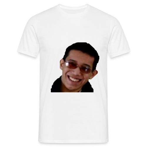Mannen t-shirt hoofd - Mannen T-shirt