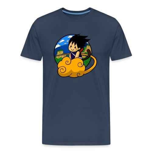 Boy on cloud - Men Shirt - Männer Premium T-Shirt