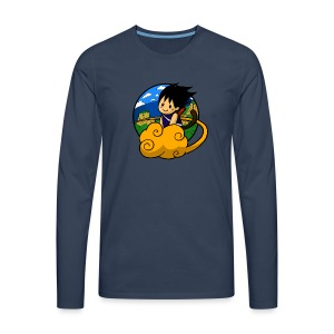 Boy on cloud - Men Longsleeve - Men's Premium Longsleeve Shirt