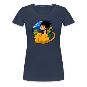 Boy on cloud - Girly Shirt - Women's Premium T-Shirt