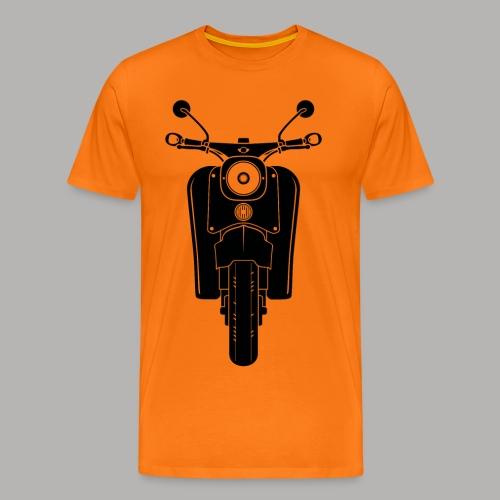 Simson Schwalbe Front // T-Shirt  - Männer Premium T-Shirt