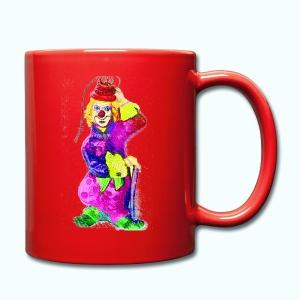 clownstasse - Tasse einfarbig