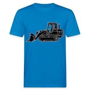 Bulldozer Planierraube 2 - Männer Bio-T-Shirt