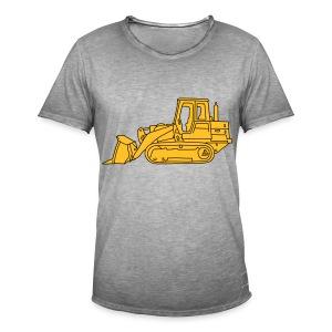 Bulldozer Planierraube 2 - Männer Vintage T-Shirt