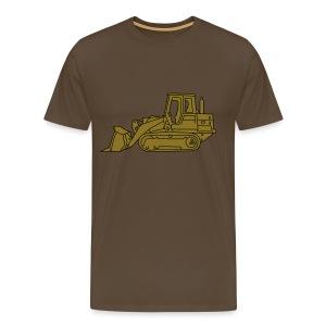 Bulldozer Planierraube 2 - Männer Premium T-Shirt