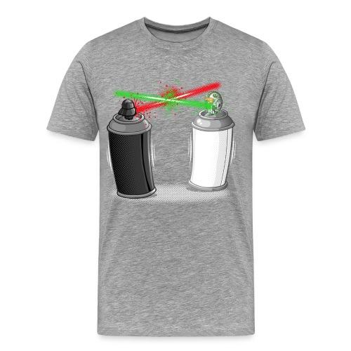 Graffiti wars - T-shirt Premium Homme