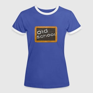 old school T-Shirts - Women's Ringer T-Shirt