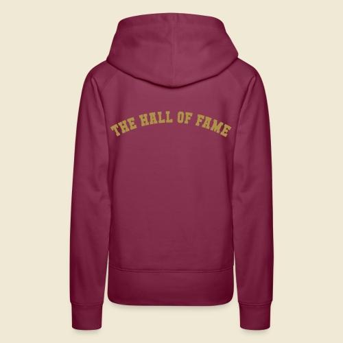 HOF - Sweat à capuche logo or - Femme - Sweat-shirt à capuche Premium pour femmes