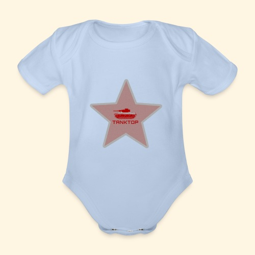 the real tanktop - Baby Bio-Kurzarm-Body
