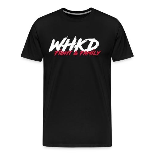 WHKD.net (T-Shirt) schwarz - Männer Premium T-Shirt
