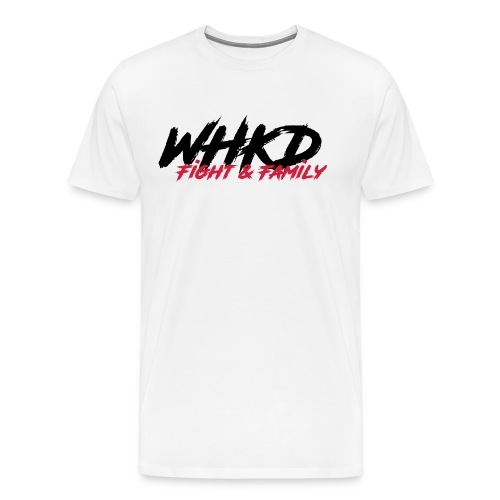 WHKD.net (T-Shirt) weis - Männer Premium T-Shirt