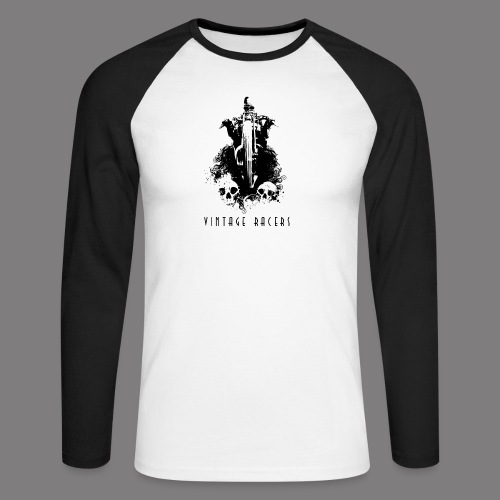 Black Rider Long Sleeves - T-shirt baseball manches longues Homme