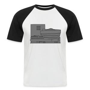 Guggenheim Museum New York 2 - Männer Baseball-T-Shirt