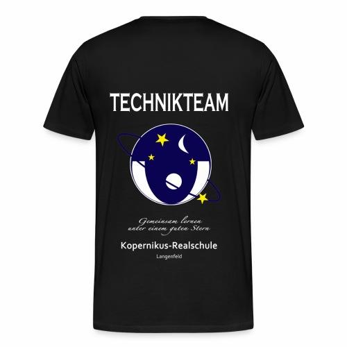 T-Shirt 01 - Light Text - Männer Premium T-Shirt
