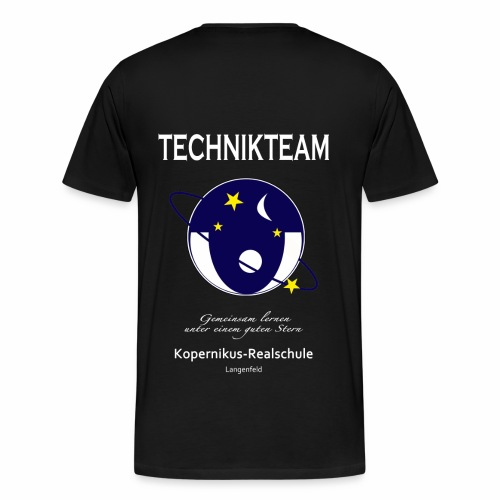 KOP-Technikteam T-Shirt (hell) - Männer Premium T-Shirt