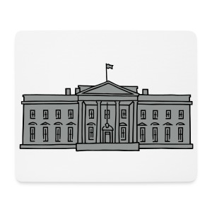 Das Weiße Haus in Washington - Mousepad (Querformat)