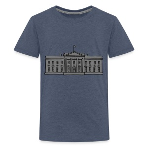 Das Weiße Haus in Washington - Teenager Premium T-Shirt