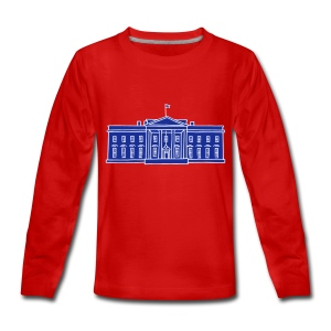 Das Weiße Haus in Washington - Teenager Premium Langarmshirt