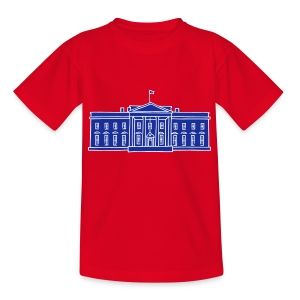 Das Weiße Haus in Washington - Kinder T-Shirt
