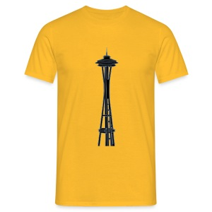 Space Needle in Seattle 2 - Männer T-Shirt