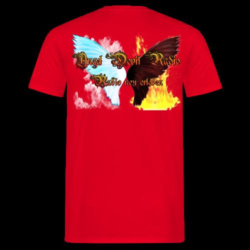 ADR-Fanshirt Man Red - Männer T-Shirt