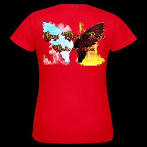 ADR Fan Shirt für die Liebste in Rot - Frauen T-Shirt