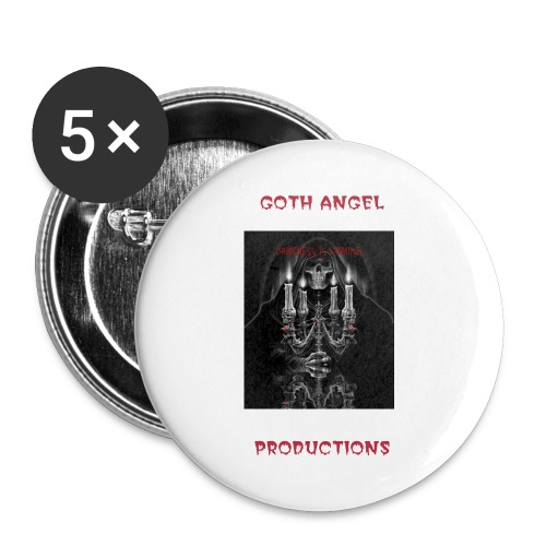 Darkness is Coming tv show button badge - Buttons large 56 mm