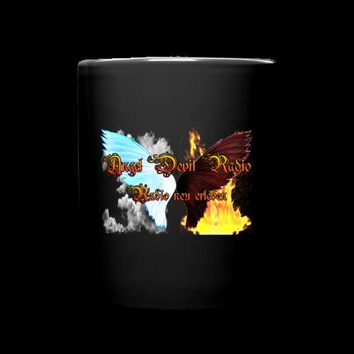 ADR Kaffee Becher Schwarz - Tasse einfarbig