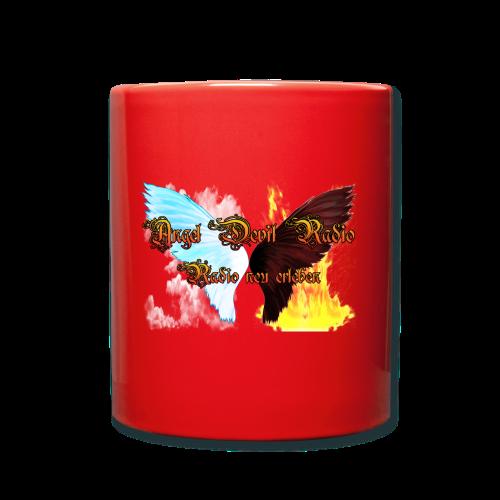 ADR Kaffee Becher rot - Tasse einfarbig