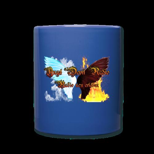 ADR Kaffee Becher blau - Tasse einfarbig