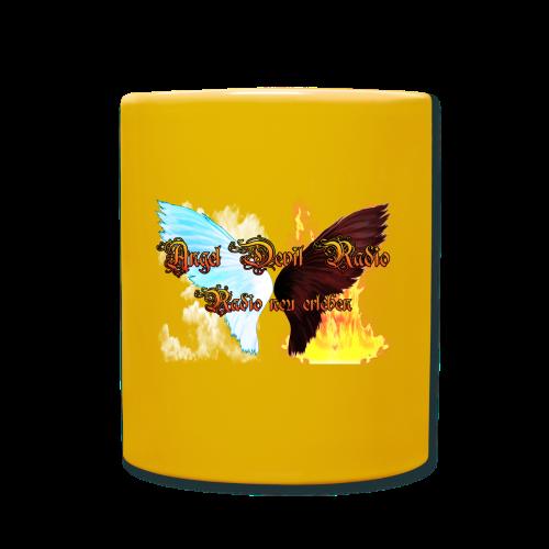 ADR Kaffee Becher gelb - Tasse einfarbig