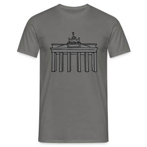Brandenburger Tor Berlin 2 - Männer T-Shirt