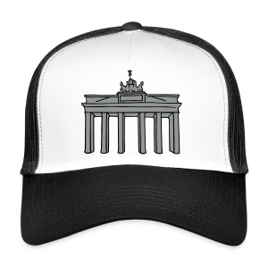 Brandenburg Gate in Berlin 2 Caps & Hats - Trucker Cap