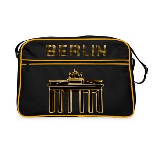 Brandenburger Tor Berlin 2 - Retro Tasche
