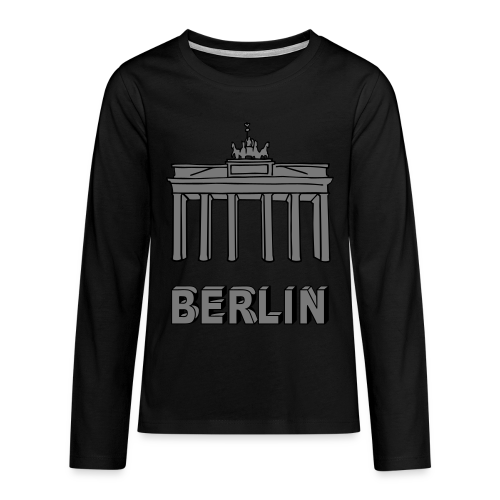 Brandenburger Tor Berlin 2 - Teenager Premium Langarmshirt