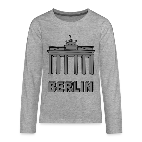 Brandenburger Tor Berlin 2 - Teenager Premium Langarmshirt