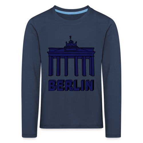 Brandenburger Tor Berlin 2 - Kinder Premium Langarmshirt