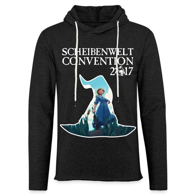 Scheibenwelt Convention 2017 Kaputzenshirt Motiv Tiffany