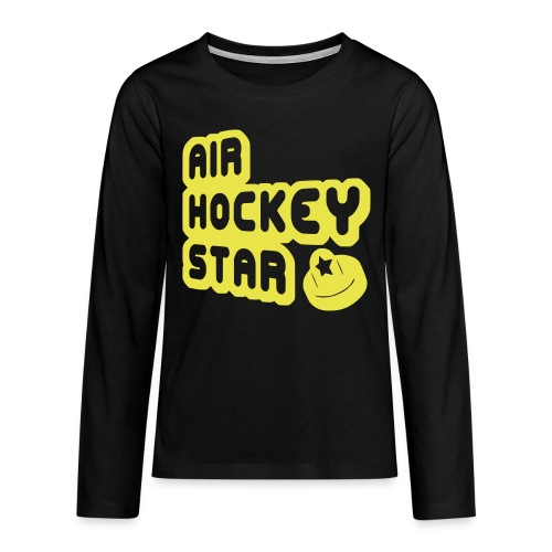 Air Hockey Star Teenager's Long Sleeve T-Shirt - Teenagers' Premium Longsleeve Shirt