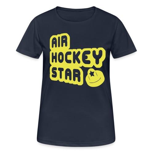 Air Hockey Star Women's Breathable T-Shirt - Women's Breathable T-Shirt