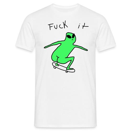 Alien SK8R Mens T-Shirt - Men's T-Shirt