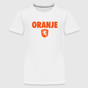 ORANJE LION EMBLEM - Teenager Premium T-shirt