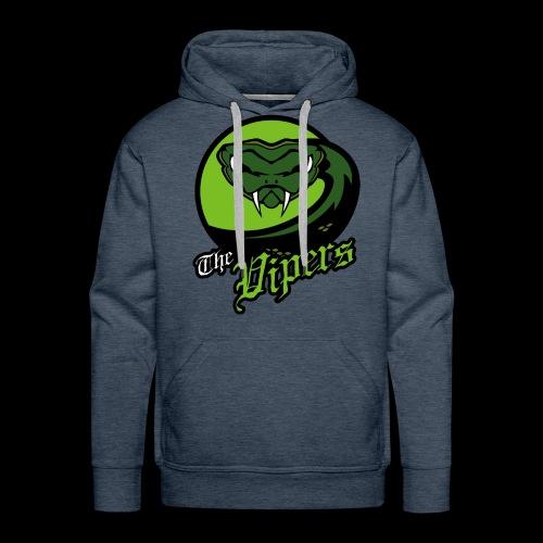Vipers single sided printed mens hoodie - Men's Premium Hoodie