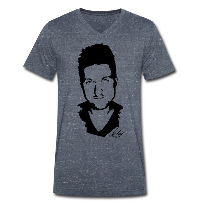 MF T-Shirt V - logo/schwarz