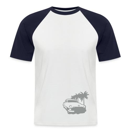 Lowrider - Grau/Schwarz - Männer Baseball-T-Shirt