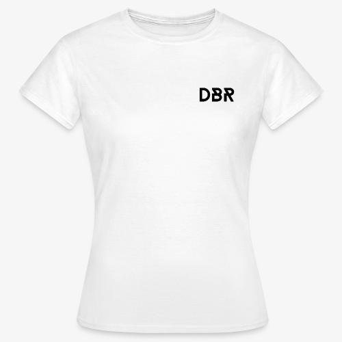 DBR Shirt - Rundhals - Damen - weiss - Frauen T-Shirt