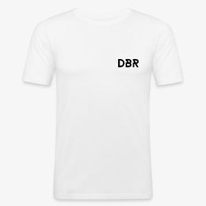 DBR Shirt - Slim Fit - Männer - weiss - Männer Slim Fit T-Shirt
