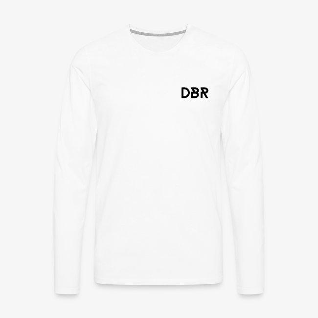 DBR Longsleeve - Männer - weiss